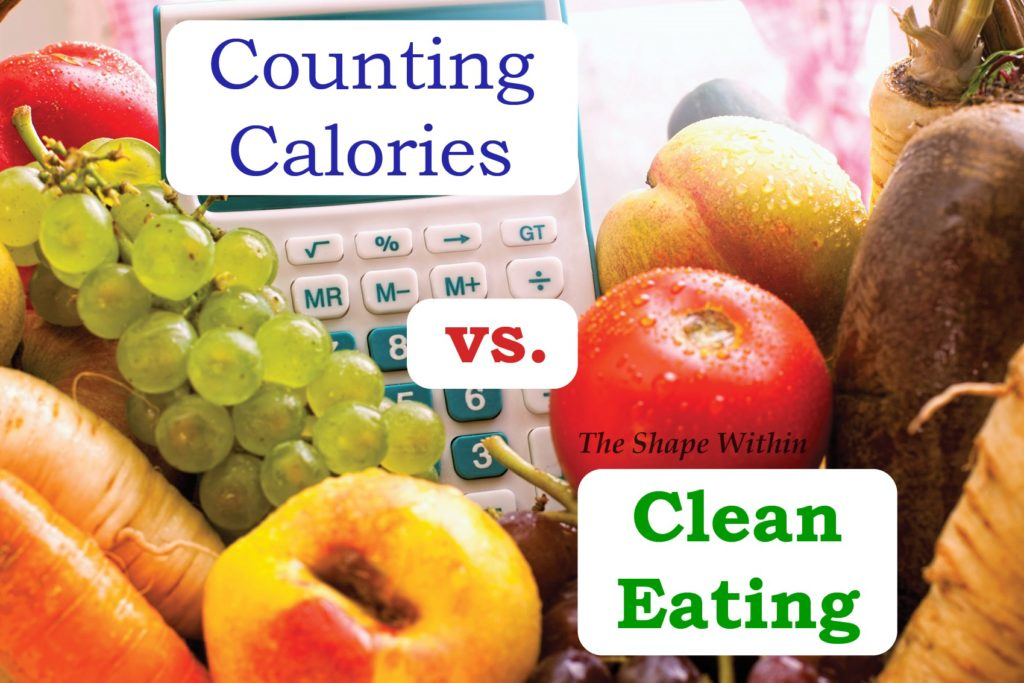 how much weight loss eating clean